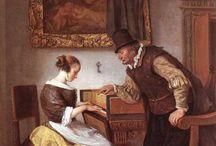 Music lessons / Aulas de Música na Pintura