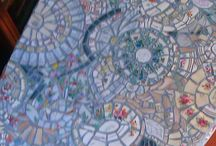 Ideas for the House / mosaic table by Gordana Stamenovic