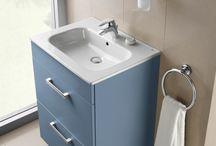 Baño Roca / En este tablero te traemos nuevos diseños de baños con productos de la marca Roca.