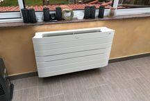 Un brin de fraîcheur / La chaleur est parfois difficile à supporter en été. La solution pour vous rafraîchir à n'importe quel moment de la journée : un climatiseur! Monobloc (1 seule unité) pour les petits budgets, split (plusieurs unités) pour rafraîchir plusieurs pièces simultanément, à cassette pour les grands espaces, réversible pour de l'air chaud en hiver et de l'air froid en été… tout est possible en fonction de vos besoins !