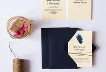 Handmade Wedding Invitations 2015 / Small design workshop Konstruktywni make wedding invitations with humor and gently :)