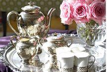 Tea at Highclere Castle