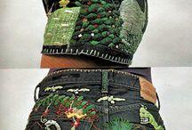 вышиваем джинсы
