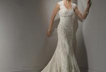 Bröllopsklänning / Clothes and hair!
