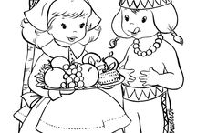 Holiday Coloring Pages / Celebrate the holidays with free printable holiday coloring pages!