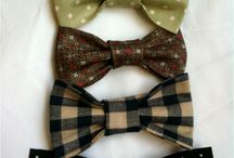 Bow ties for Jed & Mack