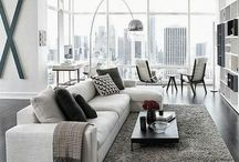 Modern/Contemporary / These images reflect a more modern aesthetic; simple, clean lines, limited pattern and a minimalist approach to the decor.
