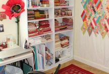 Sewing Room Ideas / by Karen Ganske