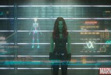 "Fandom: Gamora / Dedicated to the awesomeness that is Gamora, star of the upcoming Marvel's ""Guardians of the Galaxy,"" in theaters August 1!"
