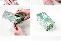 Boîtes et sacs papier carton / Idées sacs à bonbons et boîtes anniversaire enfant