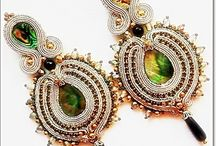 Soutache jewelry for sale / Magic soutache jewelry from  Galeria Bajka