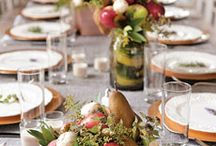 Chateau shoot (mint, peaches, pecans and all things southern)