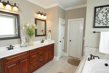 Master Bath Decorating Ideas / Bathroom decor / by Colleen Hollis 2tinytreasures