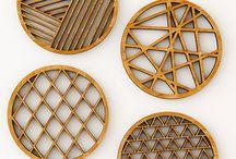 wooden works