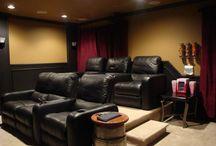 home movie room