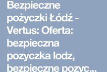 Bezpieczne pożyczki Łódź