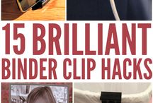 diy binder clip
