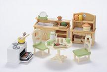 Sylvanian Families Zestaw do Jadalni / Wyjątkowe zabawki dla dzieci marki Sylvanian Families