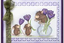 Flowers,bunnies&mice