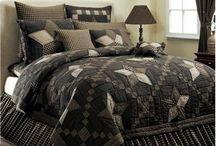 Primitive quilts / Bedroom