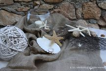 Starfish Wedding / End of September and a new couple chose for his wedding day to leave Athens and marry in Syros Island. Beside the sea, starfish, sand, seashells and  sackcloth  surround the summer atmosphere, leaving to the guests a sweet memory of the summer that is gone....