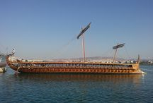 OLYMPIAS Trireme / A 2,500 year old ship, used by ancient Greeks