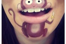 Mouth painting