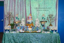 Birthday Sweet Table / All of these birthday party sweet tables have been created by Candee Couture.