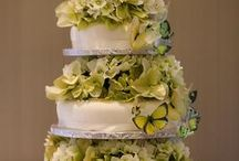 Wedding cakes with real flowers / Real flowers on wedding cakes
