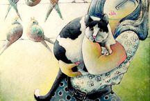 Cat in a Picture