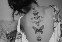 tattoo / Black and white and color tattoo