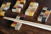 Woodwork mosaic