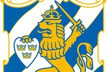 Blåvitt / Världens bästa fotbollslag - IFK Göteborg