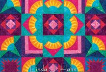 New York Beauty Diversified / Quilts from Linda Hahn's New York Beauty Diversified book (AQS 2013)