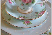 Tea party / Tazze, teiere, piatti e piattini meravigliosi!