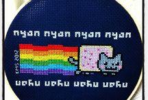 cross-stitch I've done
