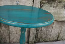 Re-deco'd Tables/desks