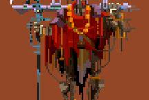 Pixel Art / Pikselitaidetta
