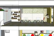 E2 mezzanine  / preliminary design / by s y