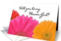 """Wedding Party / Attendants Bridesmaid Cards / Your wedding is your perfect day, and you want the perfect wedding attendants to help everything go smoothly as you tie the knot. We have the special """"Wedding Attendants/Bridal Party Invitations"""" you need - choose from thousands of designs in a rainbow of colors for bridesmaids, Flower girls, greeter, ring bearer, groomsmen, usher, maid of honor cards, bridesmaids cards, even asking that special person to walk you down the aisle."""
