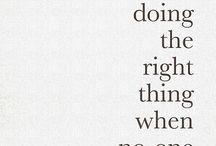 quotes / by Sandra Hillblom