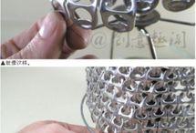 Genbrug / Ting lavet af genbrugsmaterialer