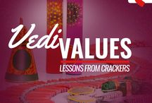 Vedi Values / This Diwali we look at a few of the crackers and the life lessons we can take away from each of them. #HappyDiwali