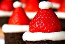 Feestelijk nagerechten, cake, hapjes en taart