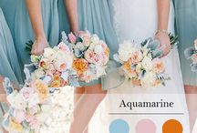 Pantone Spring Colors For 2015 / Find out what colors are trending for spring.  Softer, cooler and more minimalistic promise to be prominent in this spring's best floral and wedding designs.