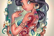 jasmin tattoo