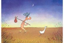 Michael Leunig cartoons inpire me
