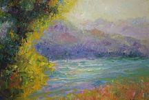 Landscape Paintings / Landscape Paintings by LaMerle Deca