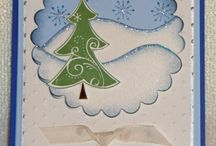 O Christmas tree / A board for crafts with Christmas trees