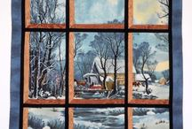 attic window quilts / by Patty Hanssens